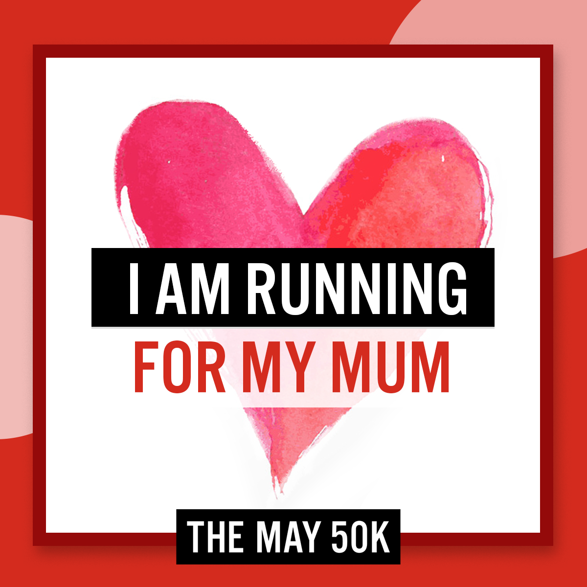 Social Posts - Run For Mum