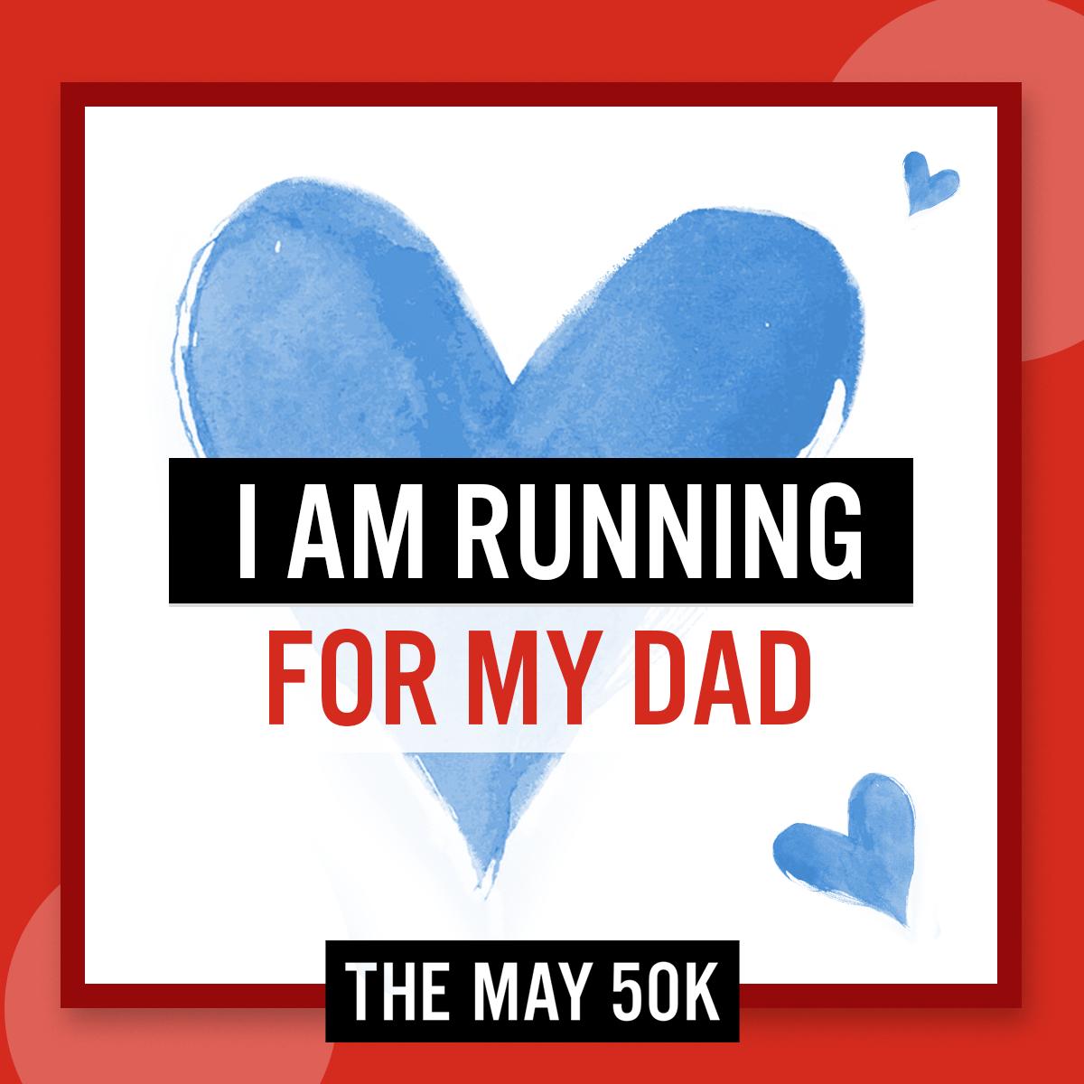 Social Posts - Run For Dad