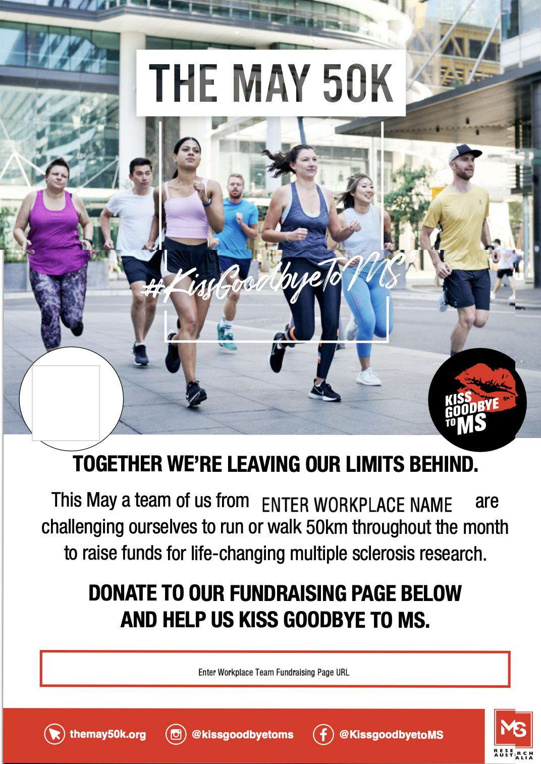 Workplace Poster - Donate (Add logo)