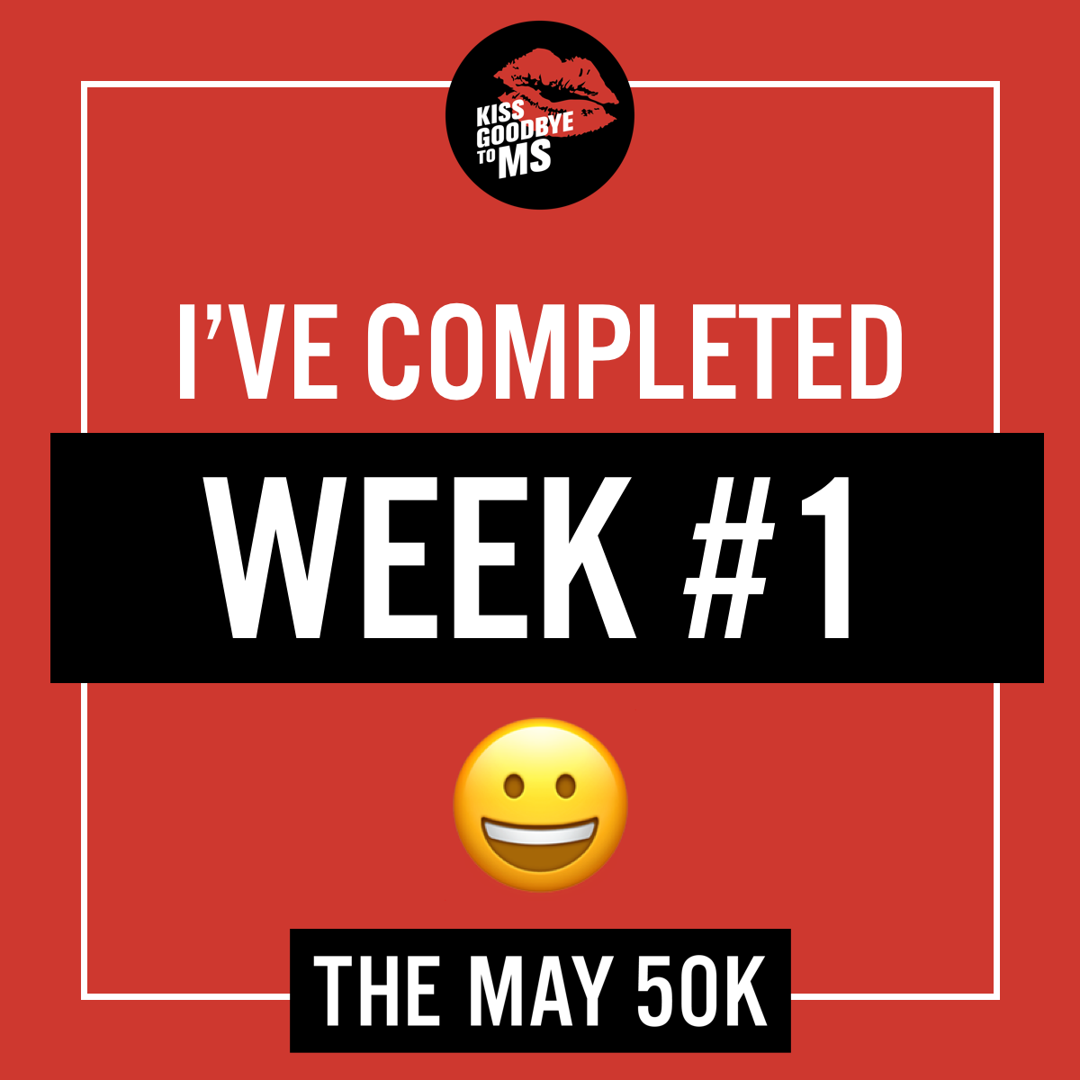 Social Post - Completed Week 1