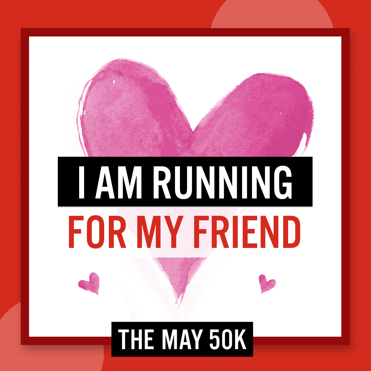 Social Posts - Run For Friend
