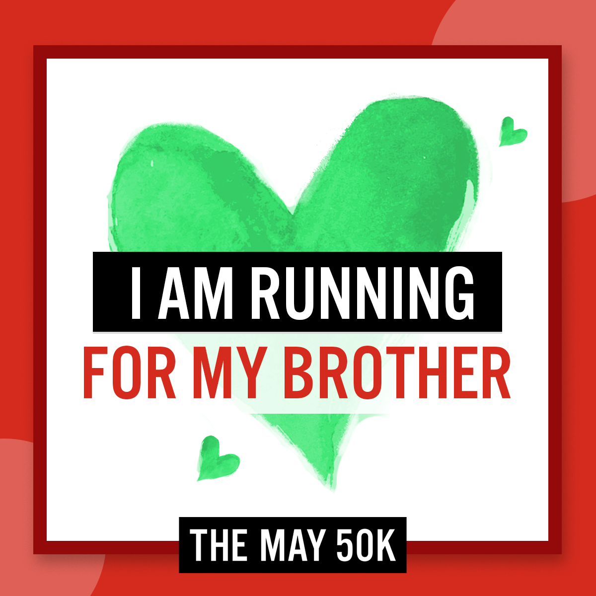 Social Posts - Run For Brother