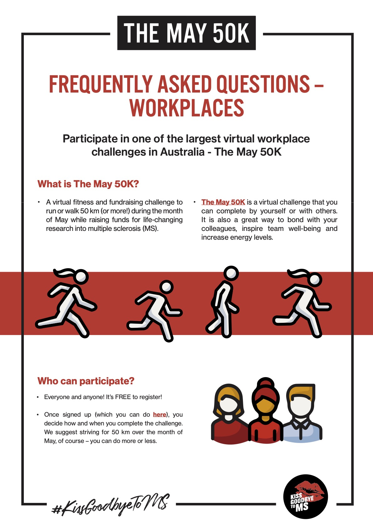 Workplace - The May 50K: FAQs