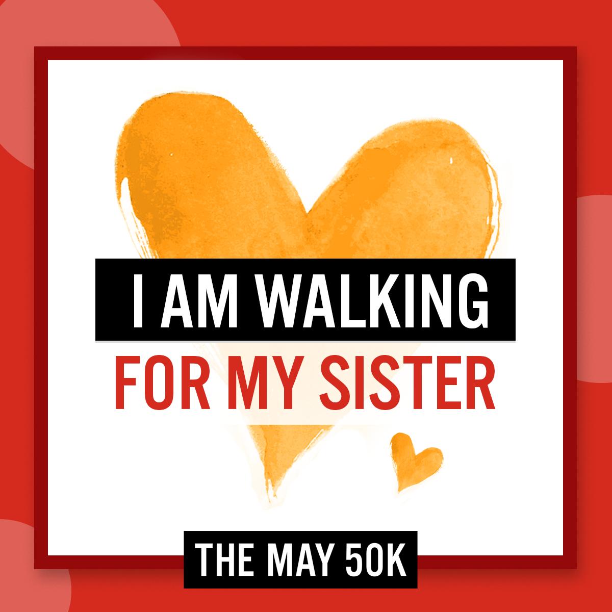 Social Posts - Walk For Sister