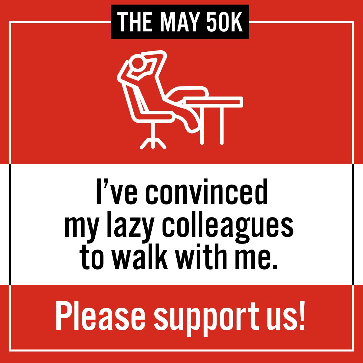 Workplace Social Post - Walk