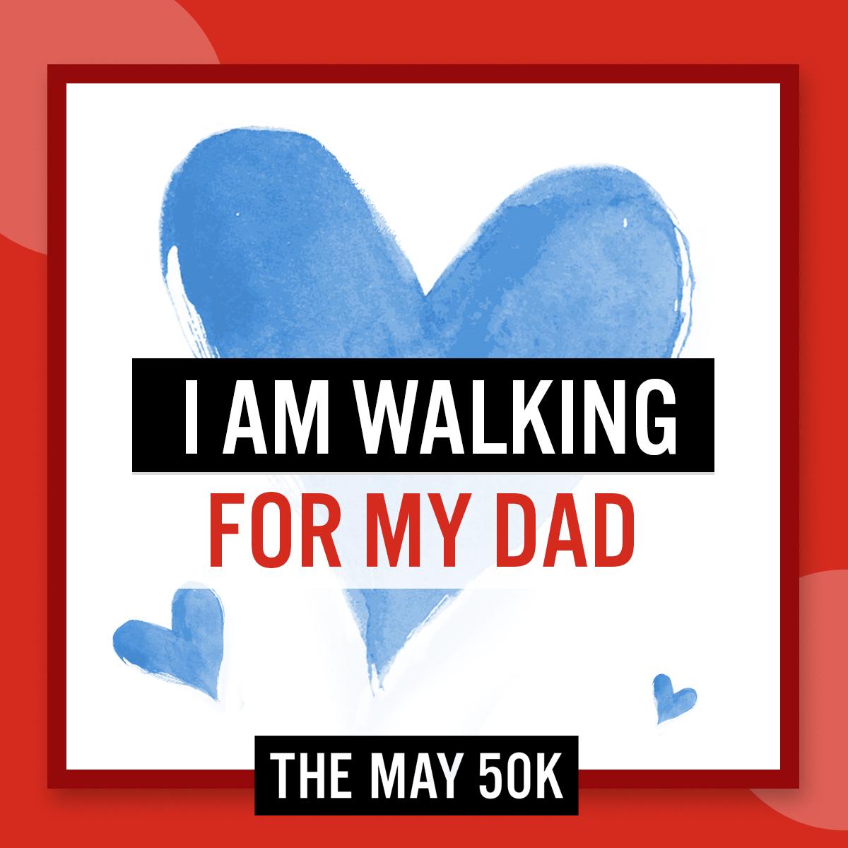 Social Posts - Walk For Dad