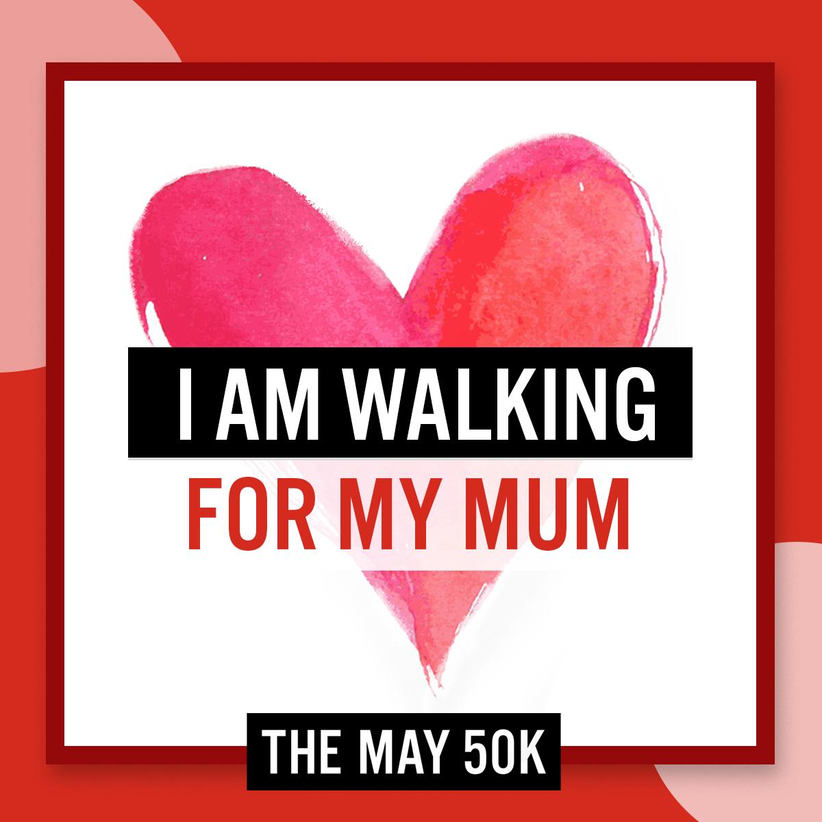 Social Posts - Walk For Mum